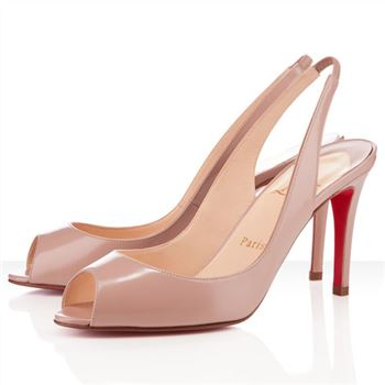 Christian Louboutin You You 80mm Slingbacks Nude