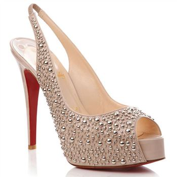 Christian Louboutin Star Prive 120mm Slingbacks Pink
