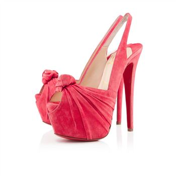 Christian Louboutin Miss Benin 160mm Slingbacks Rose Paris